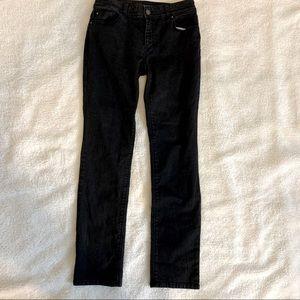 Chicos platinum jeans pants black
